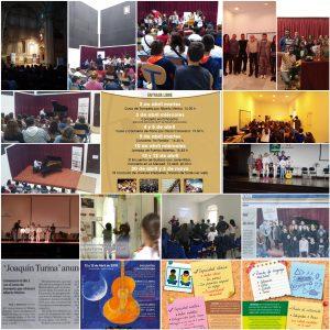 Collage Actividades Mes de Abril