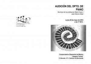 Portada aud. 1º y 2º, 26-5-2014