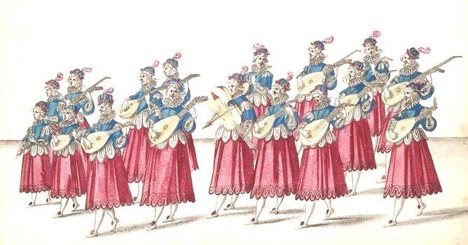 bMusique servant de récit au Grand Ballet (album), dix-sept figures, 1600s