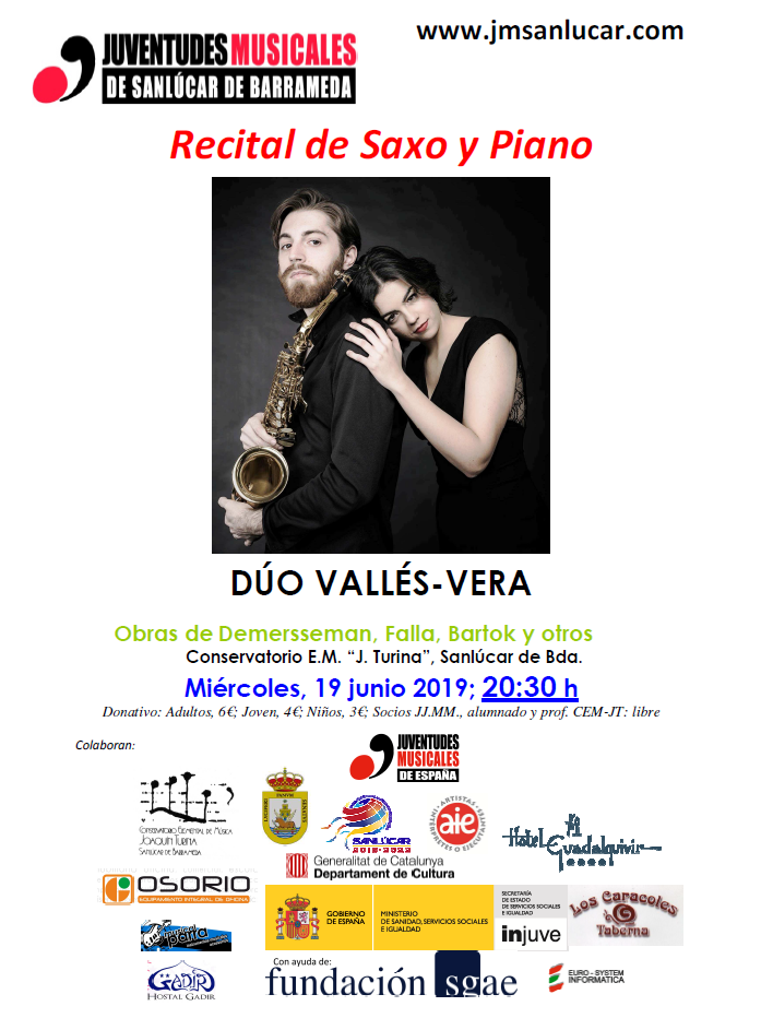 recital saxo piano